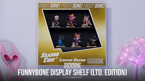 BackBone FunnyBone Display Shelf - Season 2 LTD Edition