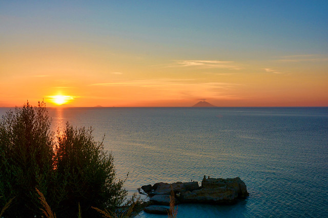 Sunset Calabria / Italy