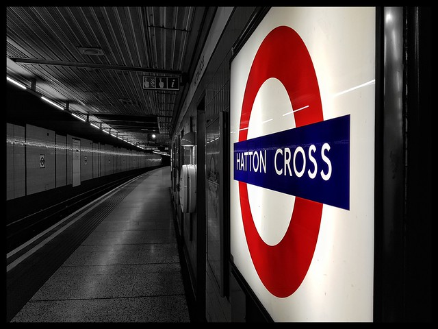 Hatton Cross Tube Station