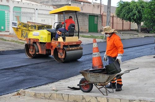 Novacap leva 10 km de asfalto novo a Taguatinga Norte
