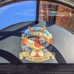 Smokin Vs Real Barbeque sign in Preston