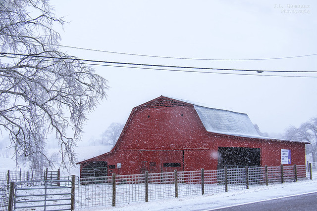 W. Clyde & Marie Hyder Farm barn - TTU College of Agriculture - Cookeville, Tennessee