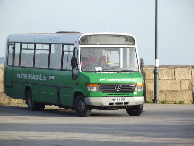 Western Greyhound Mercedes-Benz 814 WK56SUN 591