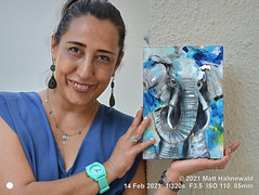 2016-01b Artist and Art 2021 (04) Georgina
