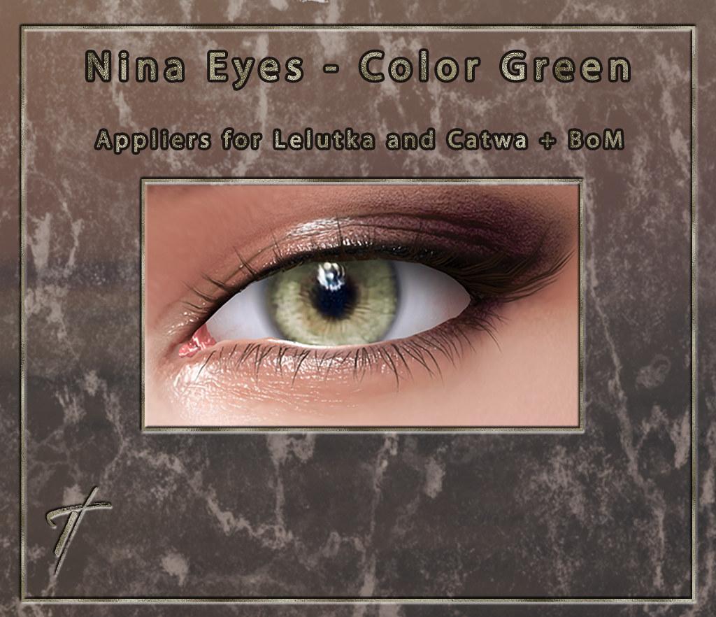Tville - Nina Eyes *Green*