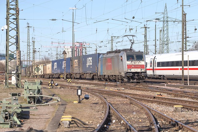 Railpool 186 187 Basel Badischer Bahnhof