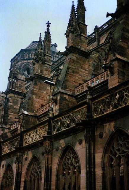 Straßburg 1987 (04) Straßburger Münster
