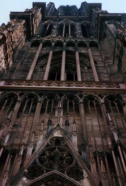 Straßburg 1987 (05) Straßburger Münster