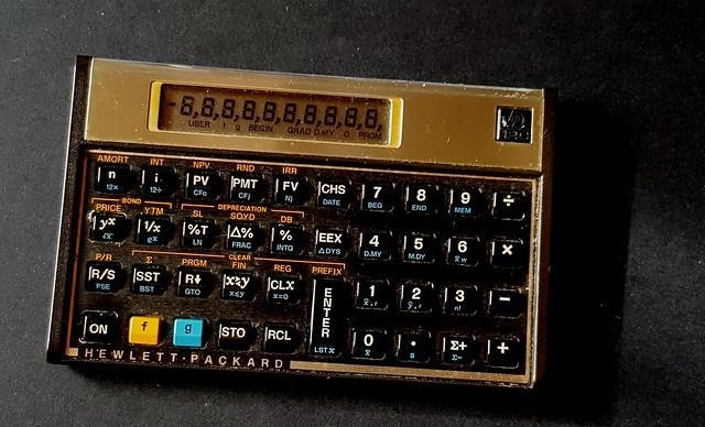 HP 12c, in uso dal 1983