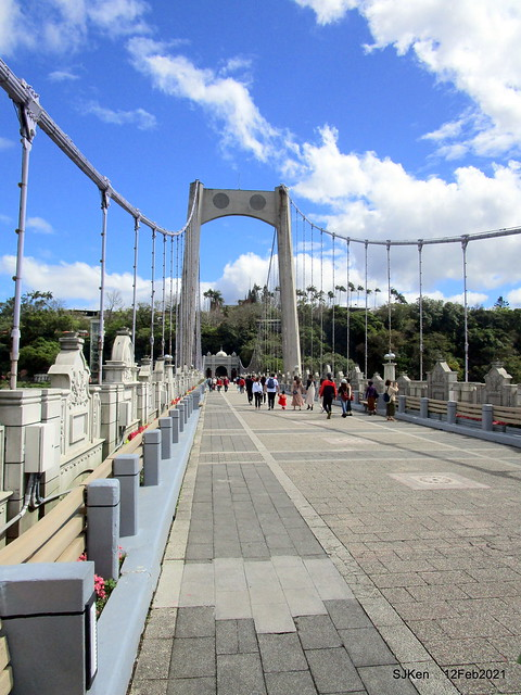 桃園大溪橋(Dasi bridge) , Dasi district,Taoyuan city, North Taiwan,SJKen, Feb 12, 2021.