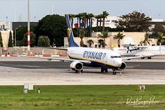 Ryanair MaltaAir B737-8AS, reg 9H-QCT, cn 44742 stored at Park 9, LMML (25.01.2021)