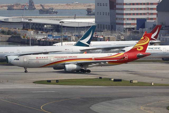 B-LNP, Airbus A330-300, Hong Kong Airlines, Hong Kong