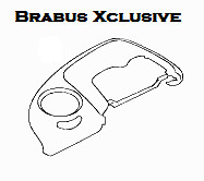 New Smart Roadster Brabus Xclusive leather cockpit PAD DRIVER'S SEAT (only for LHD)