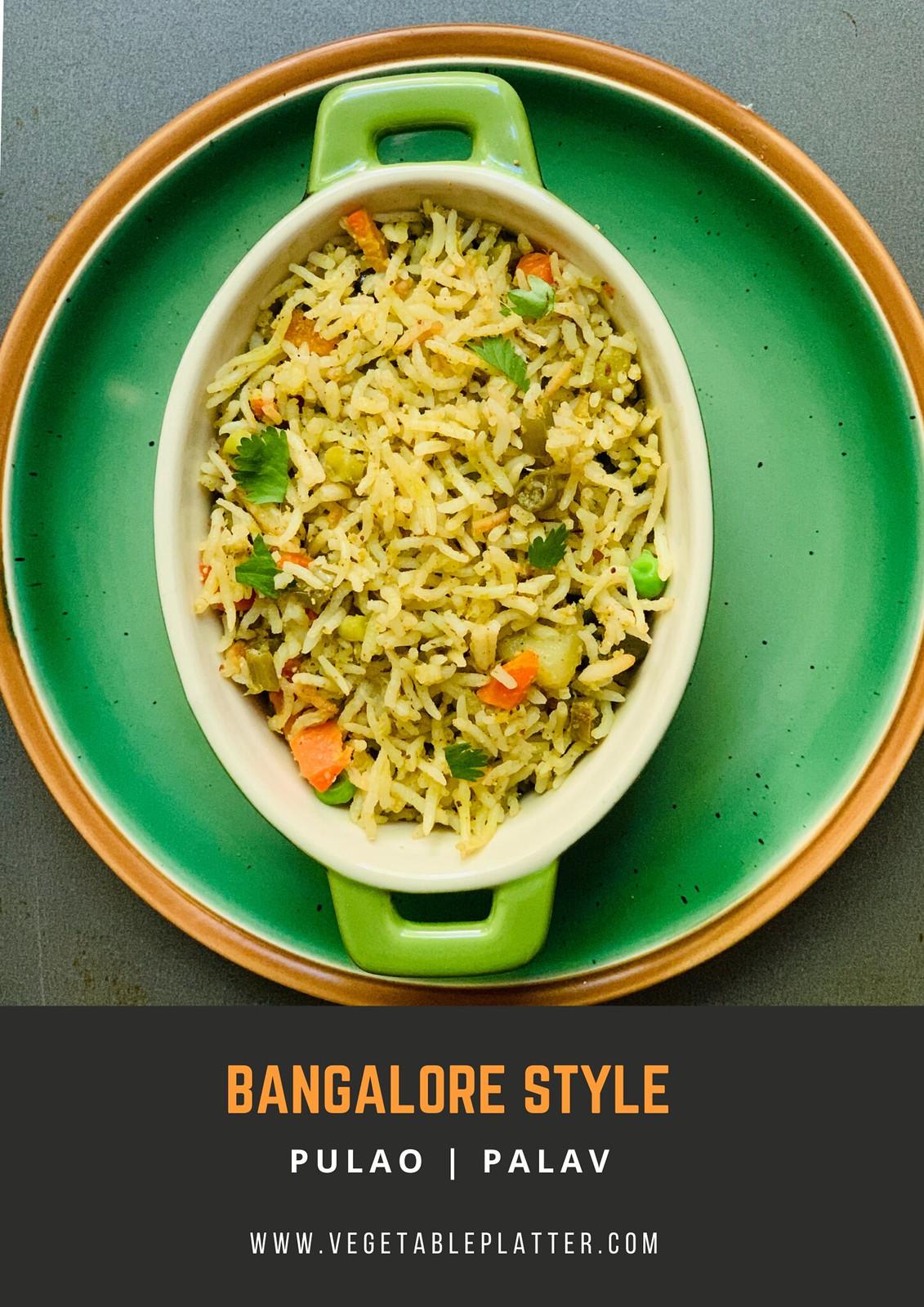 Bangalore Style Palav