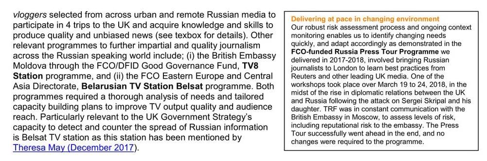 Proposition de Reuters
