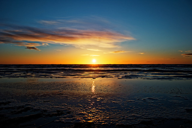 Sunset. (Feb 26, 2021)