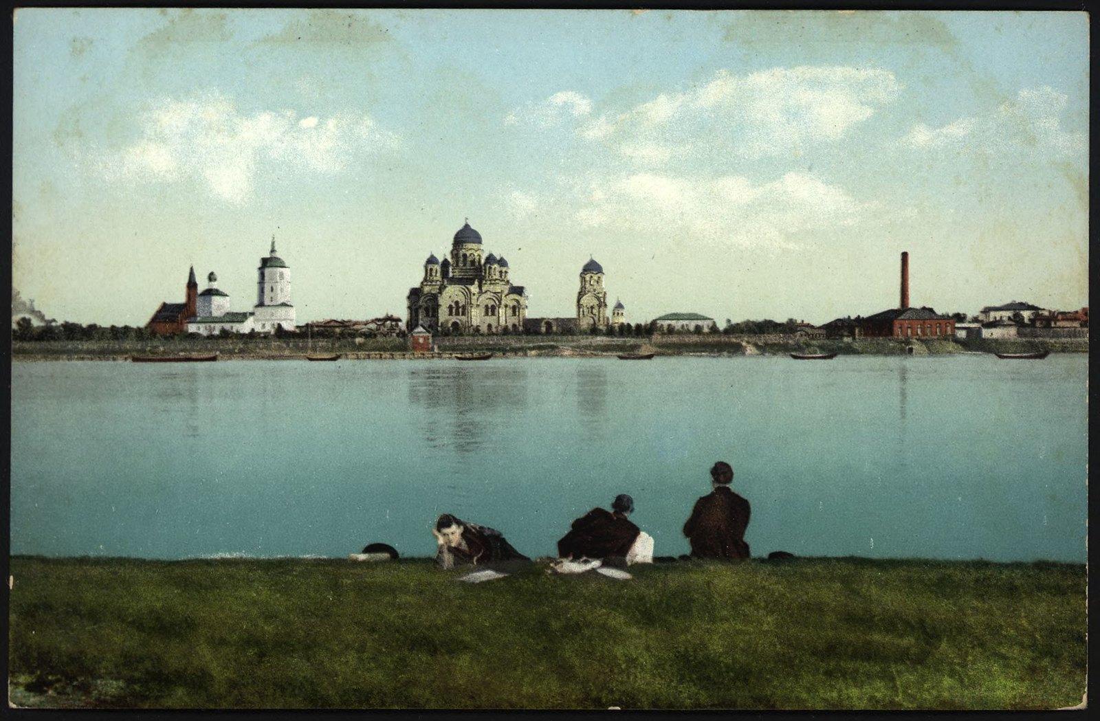 29. Вид на город с острова Лю︡бви