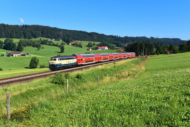 218 446-3 I RE 57392 I Ellenberg / Woldpoldsried (12080)