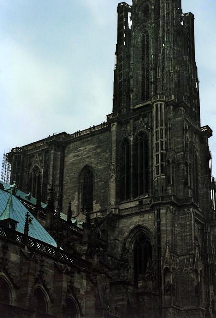 Straßburg 1987 (03) Straßburger Münster