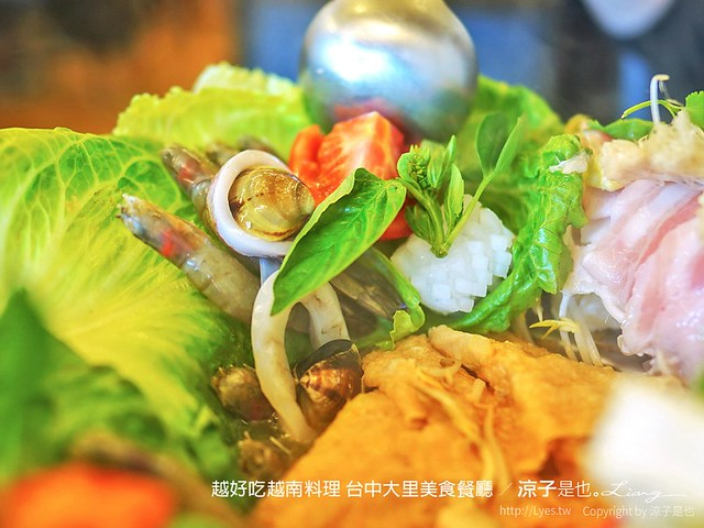 越好吃越南料理 台中大里美食餐廳