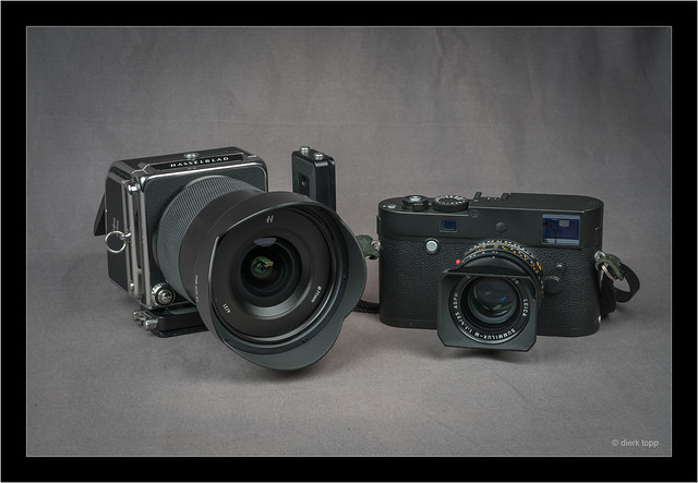 Hasselblad 907X with XCD 4/21 and Leica M Monocrom 246 with Summilux 35/1.4