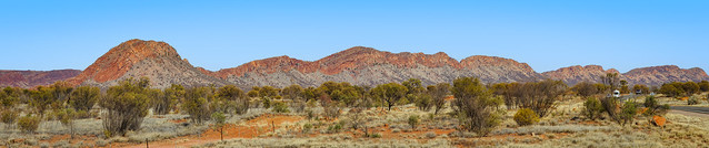 MacDonnell Ranges. (EXPLORED).