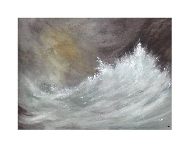 Tempête en haute mer