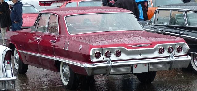 Chevrolet Impala 1963 red hl