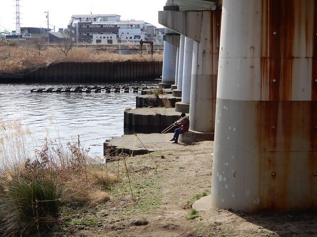 Walk along the Tsurumi River