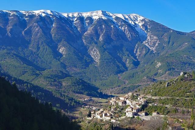 Brantes (Vaucluse) et le Mont-Ventoux