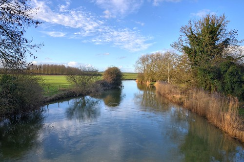 northamptonshire thorpewaterville rivernene rivers countryside farmland