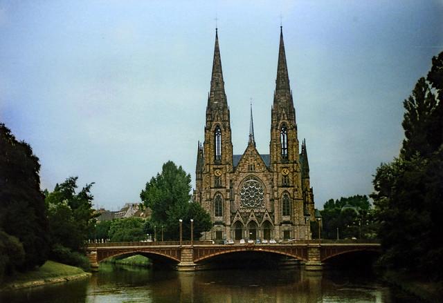 Straßburg 1987 (01) Paulskirche