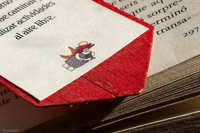 My Bookmark _ texture and natural light