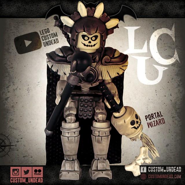Portal Wizard – Lego Custom Minifigure