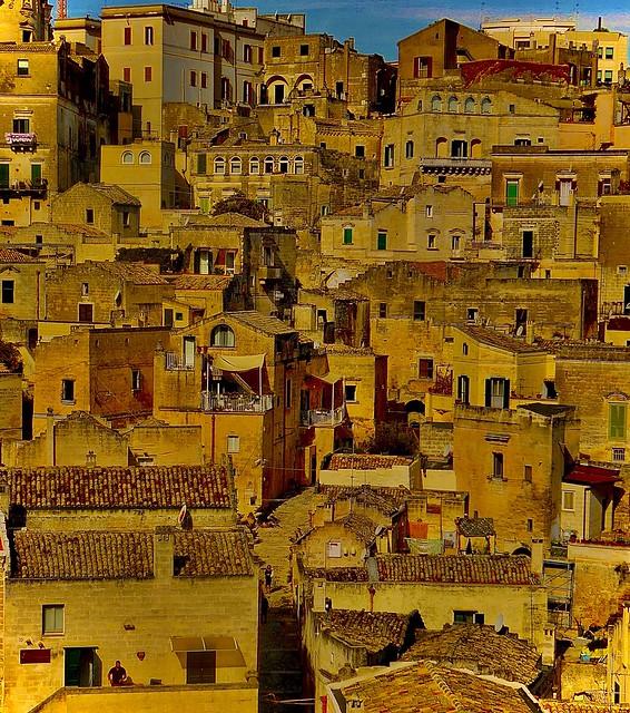 Calles de Matera