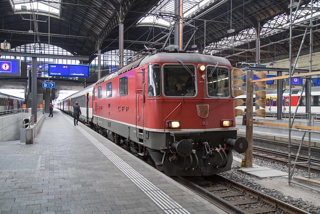SBB Re 4/4 420 147 Basel SBB