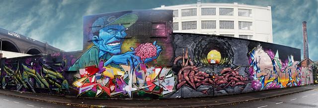 Street Art at Floodgate Street.