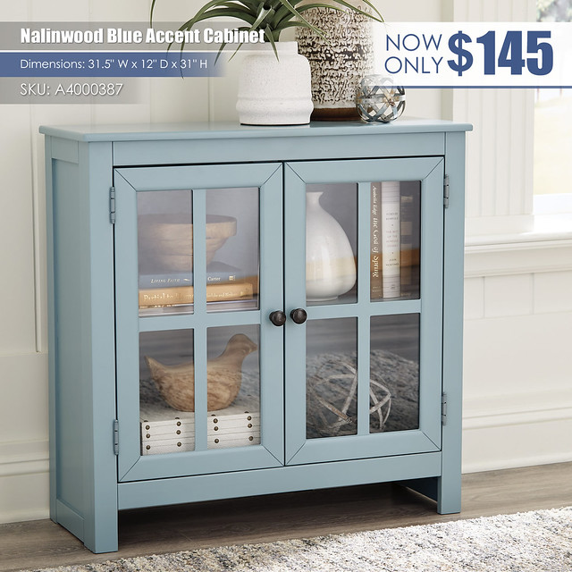 Nalinwood Blue Accent Cabinet_A4000387