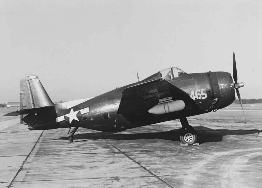 General Motors TBM-3E (69465) at Patuxent River, Maryland January 1946.