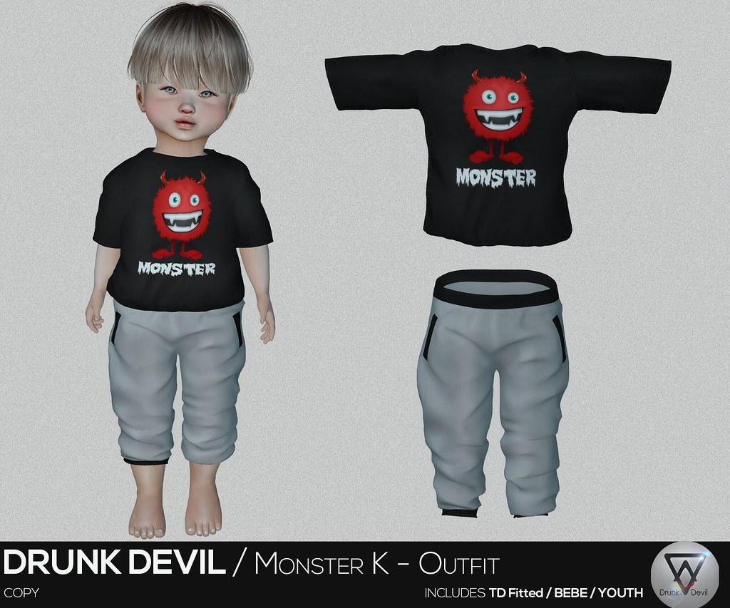 Drunk Devil / Monster K – Outfit