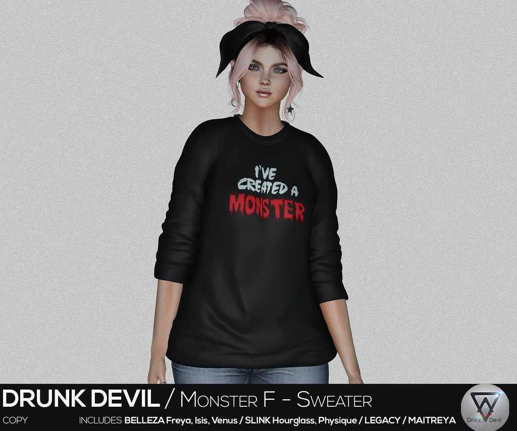Drunk Devil / Monster F - Outfit