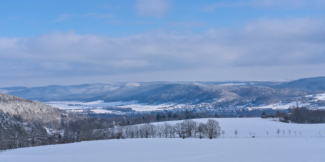 View over Saale Valley