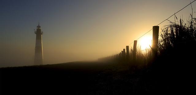 Het weer om 8 uur vanochtend: zon met enkele mistbanken