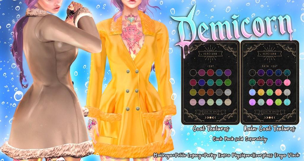 {Demicorn} Rain Coat AD