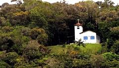 Chappel on the hill, Guaratuba Bay, Brasil