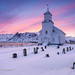 Gimsøy Kirke Sunrise    (tags:    blauestunde kirche norwegen gimsøy lofoten gimsøya fuji1655mmf28 hdr norway bluehour church    )