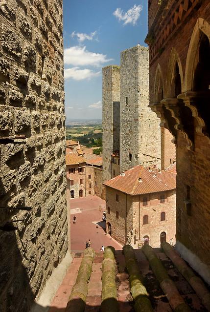Italy - Tuscany - San Gimignano - Tower view 08_DSC9030