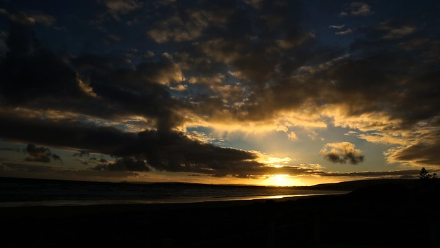 sunset dark clouds cold ocean (explored Feb 28th 2021)