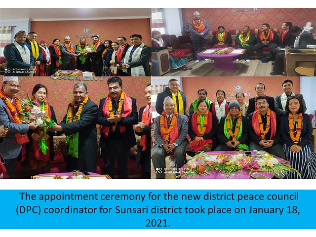 Nepal-2021-01-18-UPF-Nepal Appoints New District Peace Council Coordinator