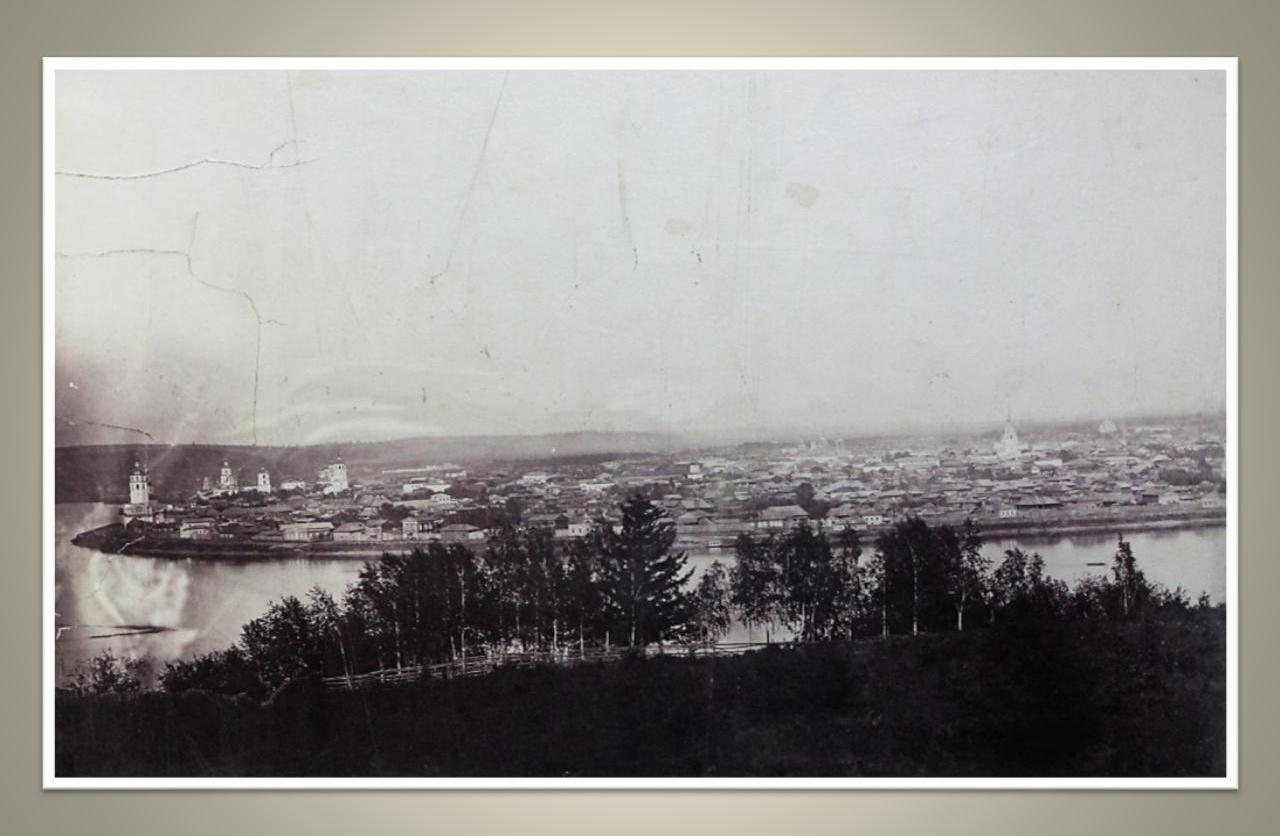 09. Вид на район от Чудотворской до Троицкой церквей. 1860-е